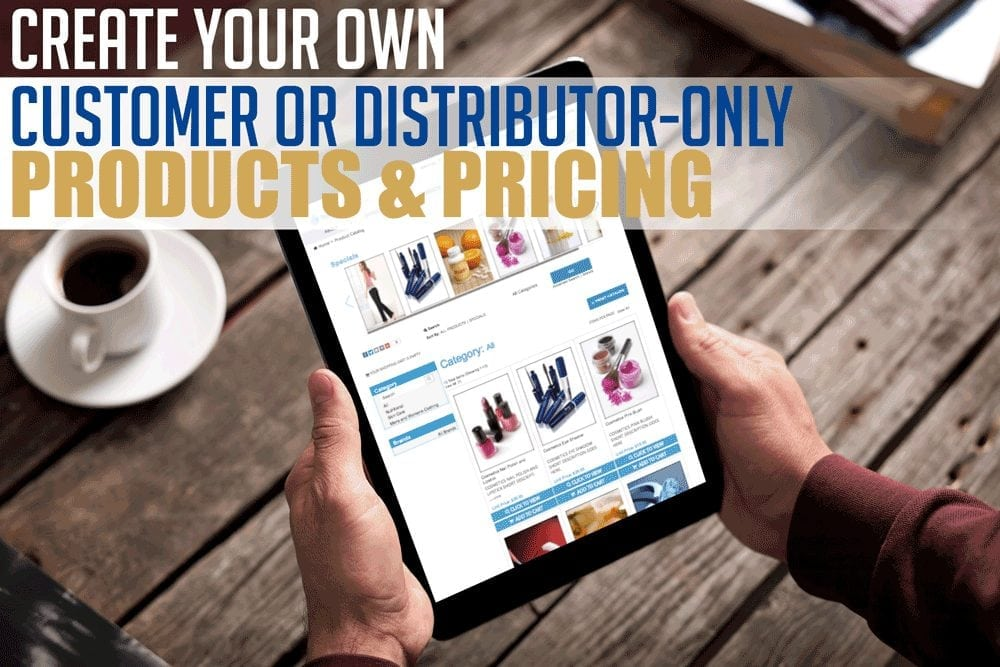 Create Your Own Customer-Only Pricing