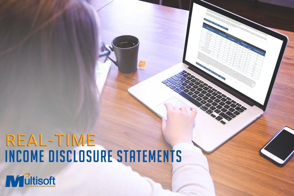 Real-Time Income Disclosure Statements